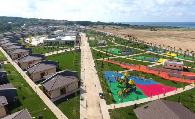 Şile Engelliler Tatil Kampı'nın peyzajına Marmara Fidancılık imzası