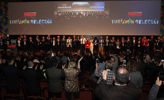 TÜRSAB Başkanlığına tekrardan Firuz Bağlıkaya seçildi