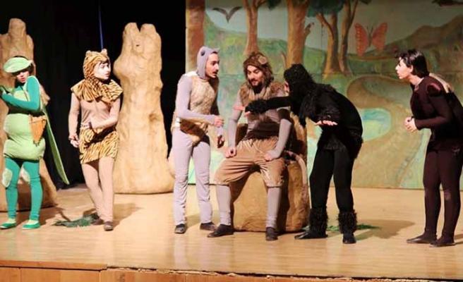 Bosch Çevre Çocuk Tiyatrosu Aydın'da çocuklarla bir araya geliyor