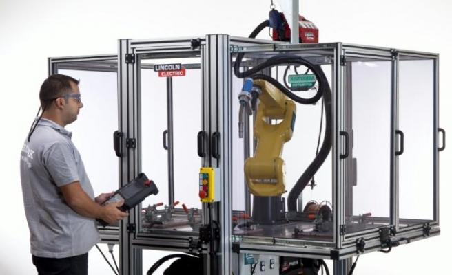 Kaynak Eğitim Robotu, üretim becerilerini geliştiriyor