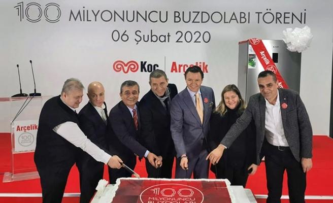 Eskişehir'deki fabrikasında 100 milyonuncu...