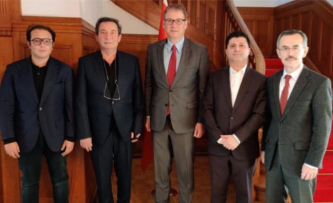 IAS, İsviçre Büyükelçisini ziyaret etti