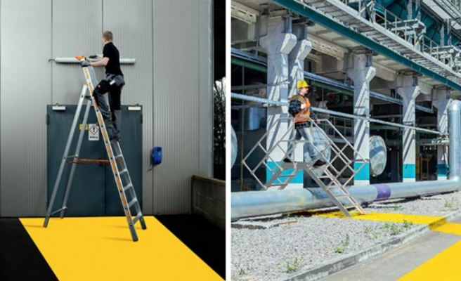 Layher merdivenleri ile kolay kullanım avantajı