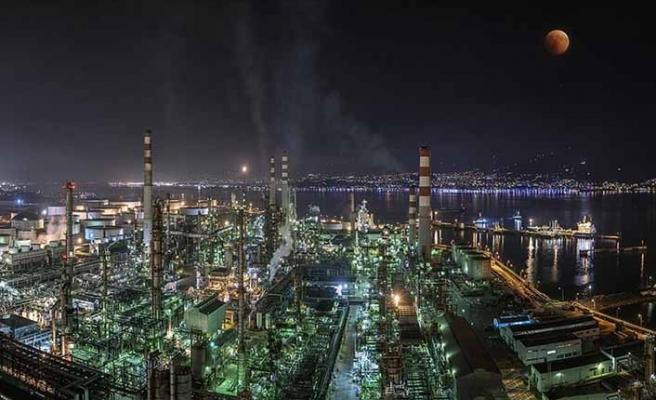 Tüpraş'ın üretimi 2019'da yüzde 9 oranında yükseldi