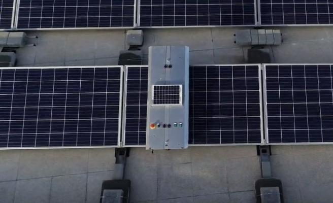 Güneş paneli robotu ile enerji verimliliğinde yüzde 20 artış