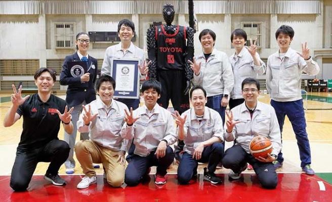 Robot basketbolcu yapay zekayla performansını artırdı
