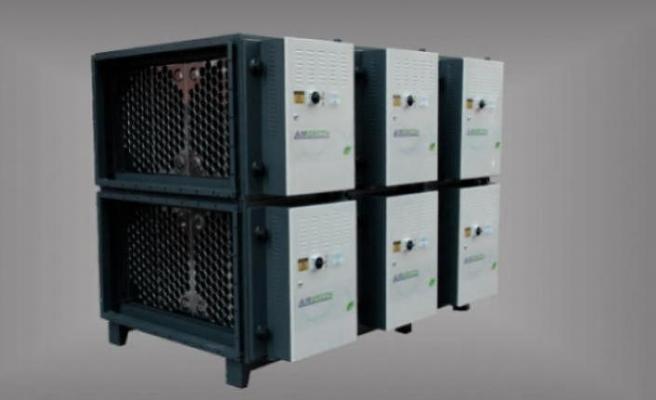Nusr-Et Etiler'in havası elektrostatik filtre cihazlarıyla temizleniyor