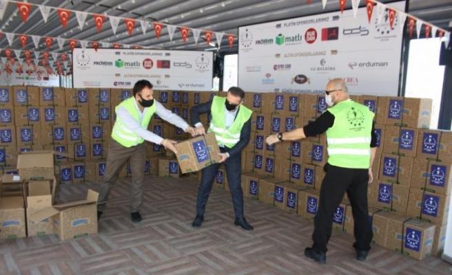 TÜMSİAD Bursa Şubesi'nden Milli Dayanışma Kampanyası'na 50 bin lira destek