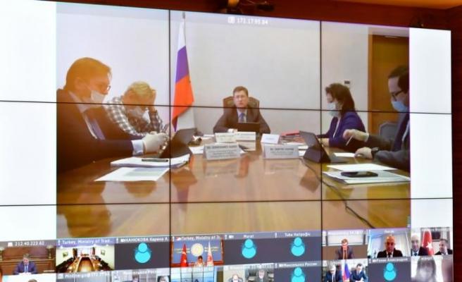 Ticaret Bakanı Pekcan ile Rusya Enerji Bakanı Novak görüştü