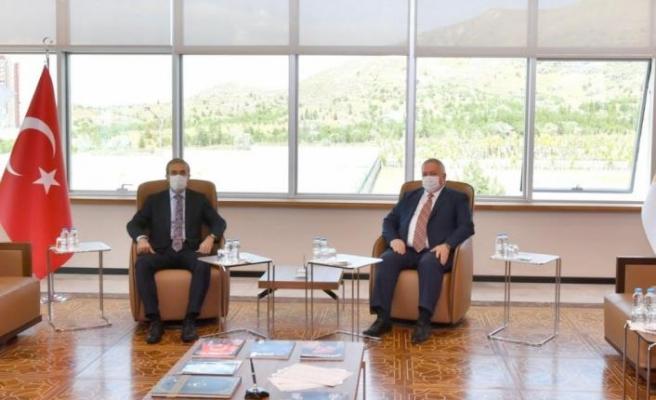 Cumhurbaşkanlığı Savunma Sanayii Başkanı Demir, Kayseri OSB'ye ziyaret gerçekleştirdi