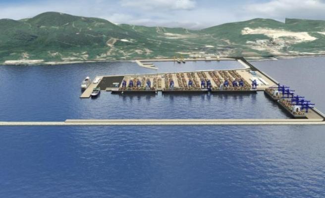 Ünye Port'un proje ihalesi gerçekleşti