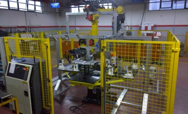 Yüzde 100 yerli robotik punta kaynak pensesi