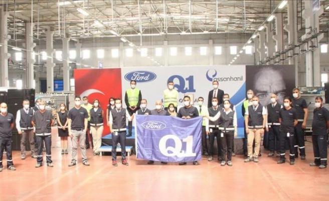 Assan Hanil,  Ford Q1 sertifikasına sahip oldu