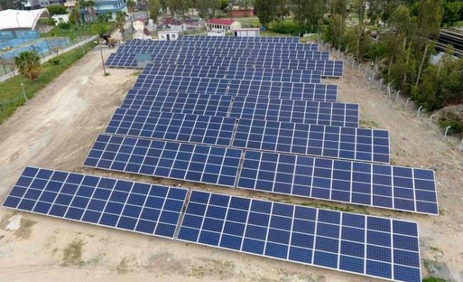Hatay'ın çevre dostu projesi güneşten elektik üretiyor