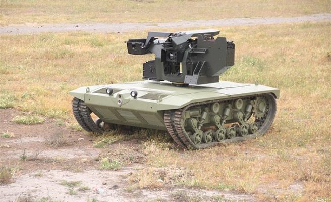 """""""İnsansız mini tank"""" için seri üretim imzası atıldı"""