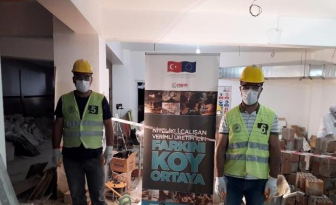 """""""Mahir Eller"""" projesinin mali destekği artırıldı"""