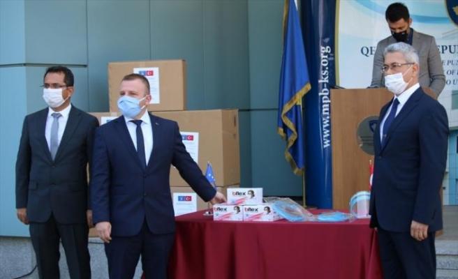 """Türk firmasından """"Kosova'nın Kovid-19 mücadelesine"""" tam destek"""