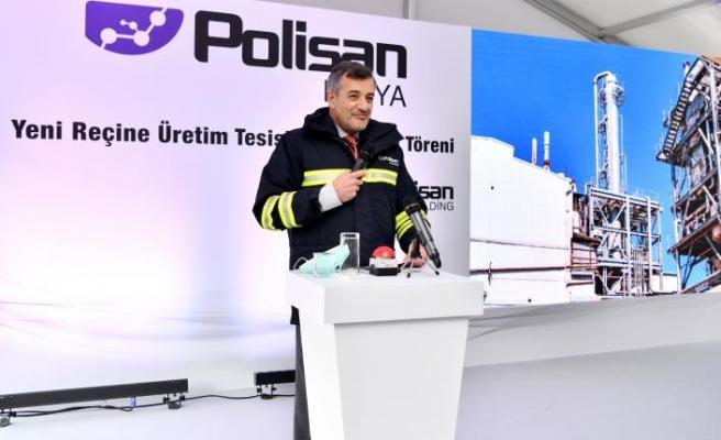 POLİSAN'DAN YENİ REÇİNE ÜRETİM TESİSİ