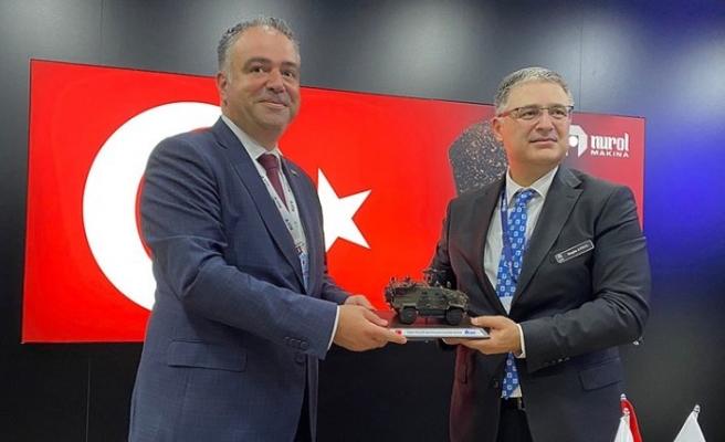 STM VE NUROL MAKİNA IDEF'TE ANLAŞMA İMZALADI