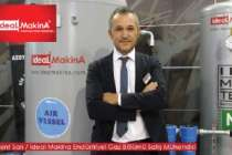 İdeal Makine Endüstriyel Gaz Satış Mühendisi Levent Sarı'nın iş gündemi...