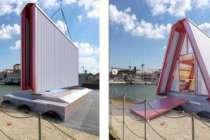 """İstanbul Tasarım Bienali'nin """"Yüzer Ev""""ine Newlux ile güvenli çözüm"""