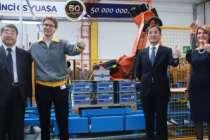 İnci GS Yuasa 34 yılda 50 milyon akü üretti