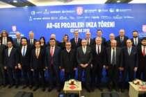 Savunma Sanayii Başkanlığı, 10 Ar-Ge projesi için düğmeye bastı