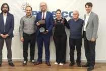 Gıda sektörüne yönelik projesi ile ödüle layık görüldü