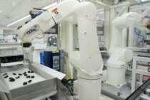 Robotlarla sıra dışı bir montaj hattı