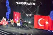 ABD'de Türkiye'yi temsil etti