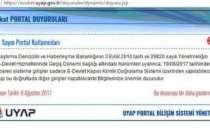 UYAP e-devlet avukat girişi