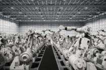 2018 yılında satılan endüstriyel robot adedi...