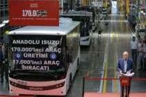 Anadolu Isuzu'nun 170 bininci aracı banttan indi