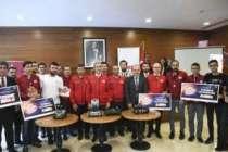 Roboik yarışmasının ödülleri sahiplerine verildi