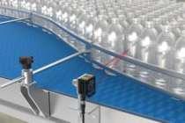 Şeffaf şişeleri algılamada yeni nesil Q5X Serisi lazer sensörler