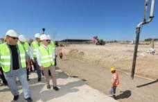 Merzifon OSB'de yeni fabrika inşaatları devam ediyor