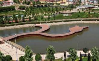 Biyolojik gölet uygulamalarıyla şehre değer katıyor
