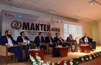 Havacılık ve savunma endüstrisi MAKTEK Konya'da konuşuldu