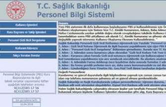 Sağlık bakanlığı personel bilgi sistemi