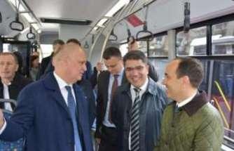 Türk otobüsleri Belgrad yolcusu