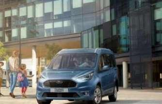 Ford'un yeni Tourneo ve Transit Connect modelleri Türkiye'de