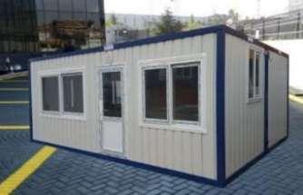 Şantiye konteynerleri ile konforlu yaşam alanı sunuyor
