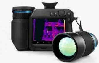 Vizörlü yüksek performanslı termal kamera