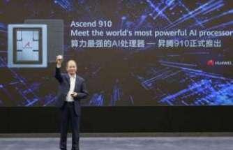 Huawei'nin yeni nesil yapay zeka destekli işlemcisi