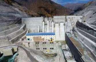 Avrupa'nın en büyük barajında geri sayım başladı
