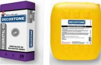 Decostone'den ıslak hacimli mekanlara kalıcı çözümler