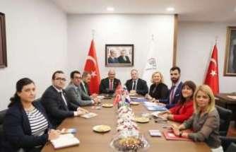 Hırvatistan ticaret heyetinden ATO' ziyareti