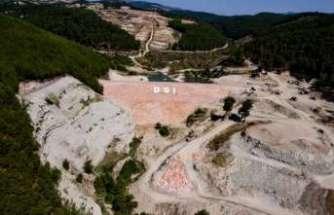 Gördes Karayağcı Barajı 2020'de su tutmaya başlıyor