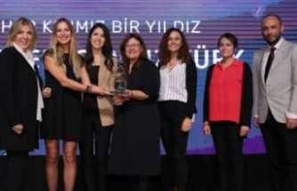 Kadının Güçlendirilmesi kategorisinde Sürdürülebilir İş Ödülü'ne layık görüldü