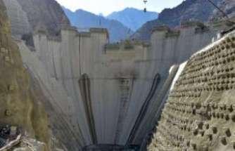 Yusufeli Barajı'nda gövde yüksekliği 139 metreye çıktı